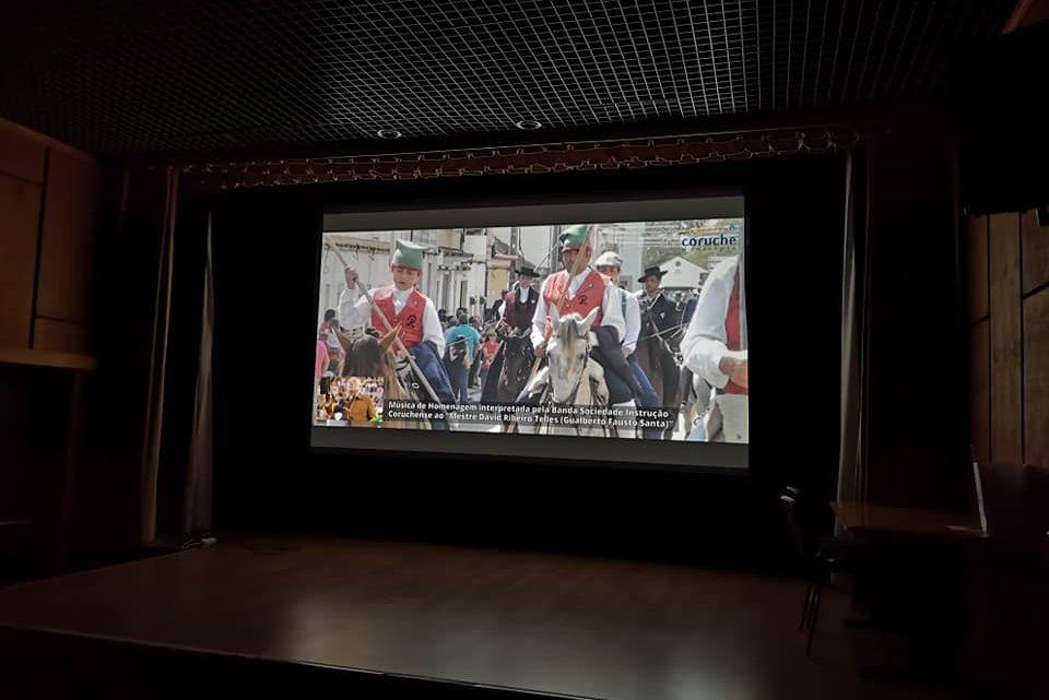 DVD do Cortejo Etnográfico de 2018 apresentado em Coruche