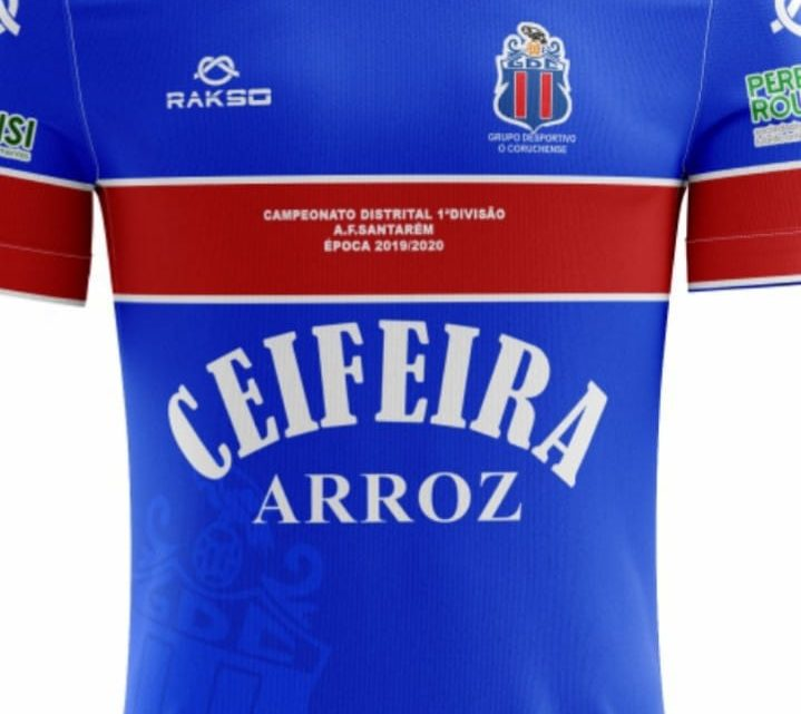 Coruchense apresentou camisola para próxima época desportiva