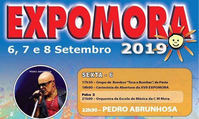 Pedro Abrunhosa, Calema e David Carreira na ExpoMora
