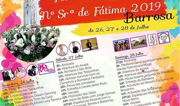 Barrosa em Festa de 26 a 28 de Julho