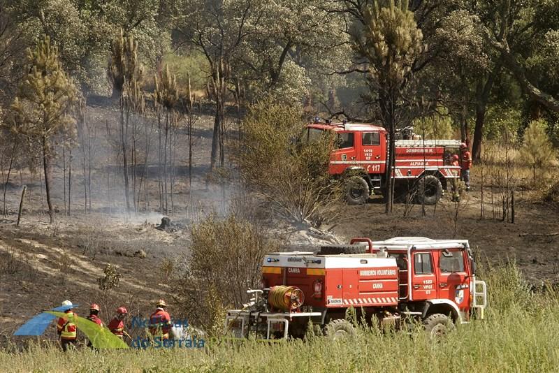 Bombeiros de Benavente agradecem empenho de todos no combate às chamas em Santo Estevão