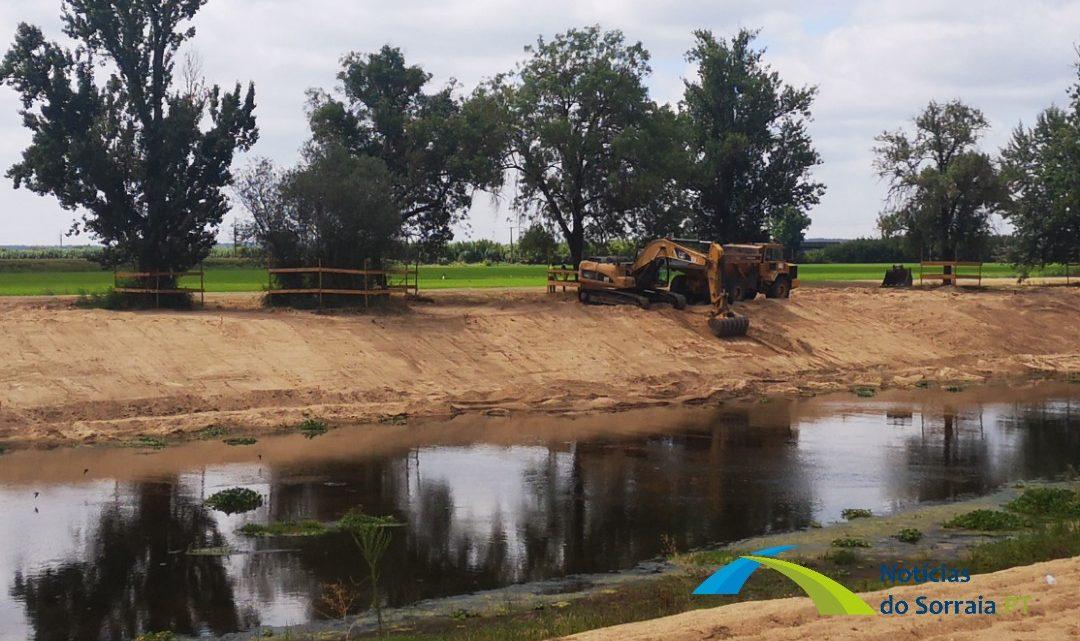 Rio Sorraia limpo e cartografado em Coruche