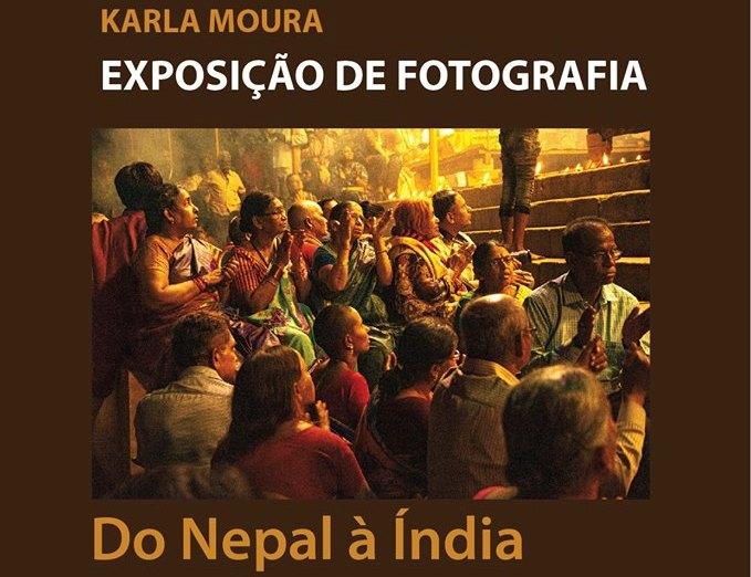 Exposição de fotografia 'Do Nepal à Índia' em Mora