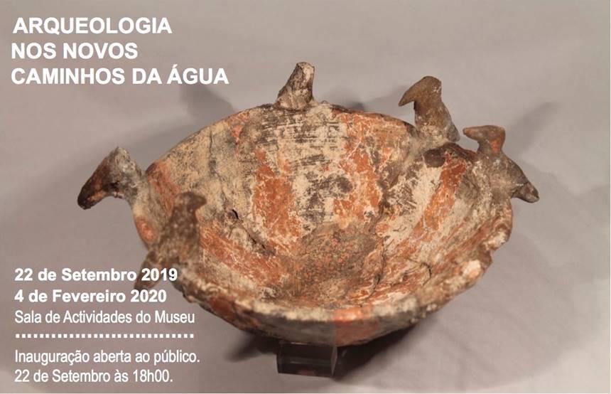 Arqueologia nos Novos Caminhos de Água em exposição em Mora