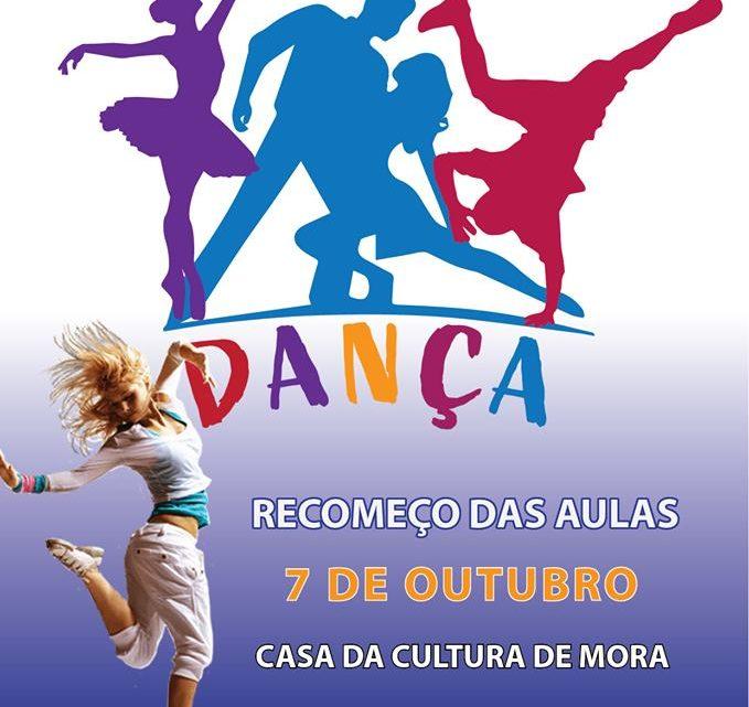Escola de Dança de Mora recomeça aulas a 7 de Outubro