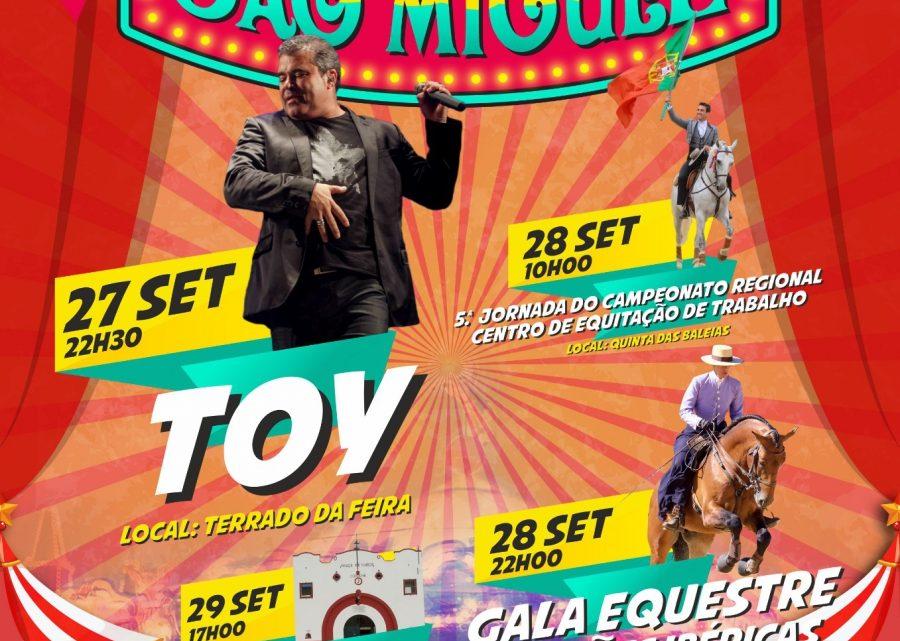 Toy na sexta-feira, Equitação no sábado e Corrida de Touros no domingo num São Miguel renovado em Coruche