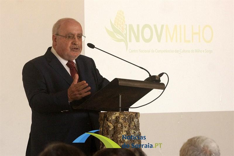 'O que está a acontecer em Coruche é um bom exemplo para todo o país…' afirma Ministro da Agricultura sobre Centro Nacional de Competências das Culturas do Milho e Sorgo