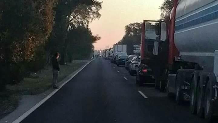 Acidente com 2 carros e 1 camião provoca 1 ferido na estrada entre Alcochete e o Porto Alto