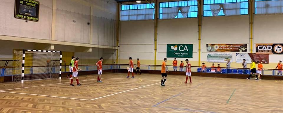 CAD Coruche vence na segunda jornada do Futsal distrital