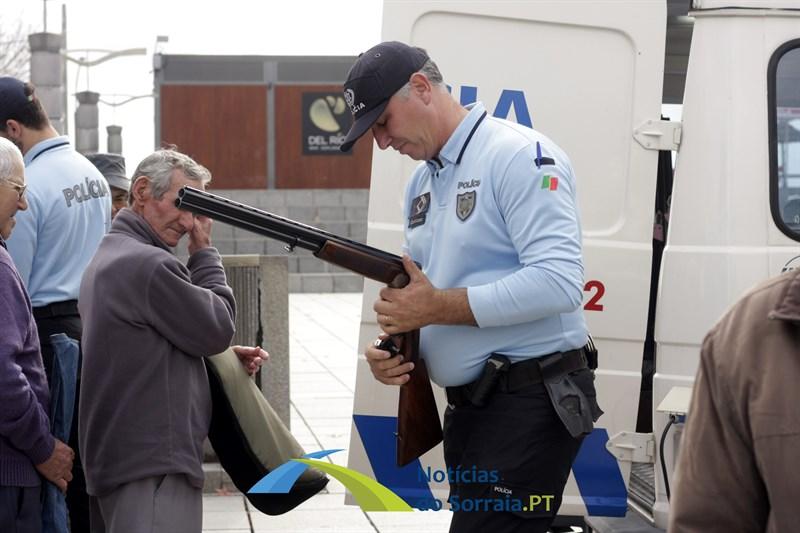 Reportagem – PSP em Coruche a efectuar a legalização e recolha de armas. Um verdadeiro serviço público