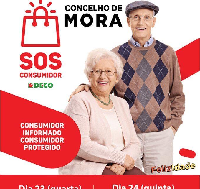 Deco realiza acção de sensibilização aos idosos em Mora