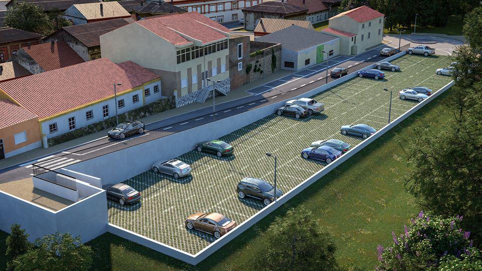Zona ribeirinha de Benavente ganha 72 lugares de estacionamento