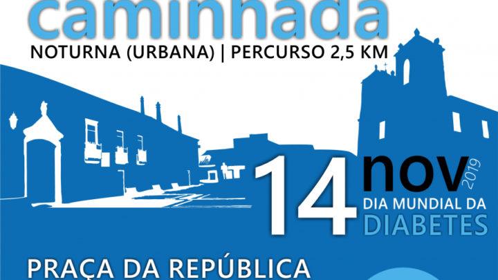 Caminhada nocturna em Samora Correia para alertar para a diabetes