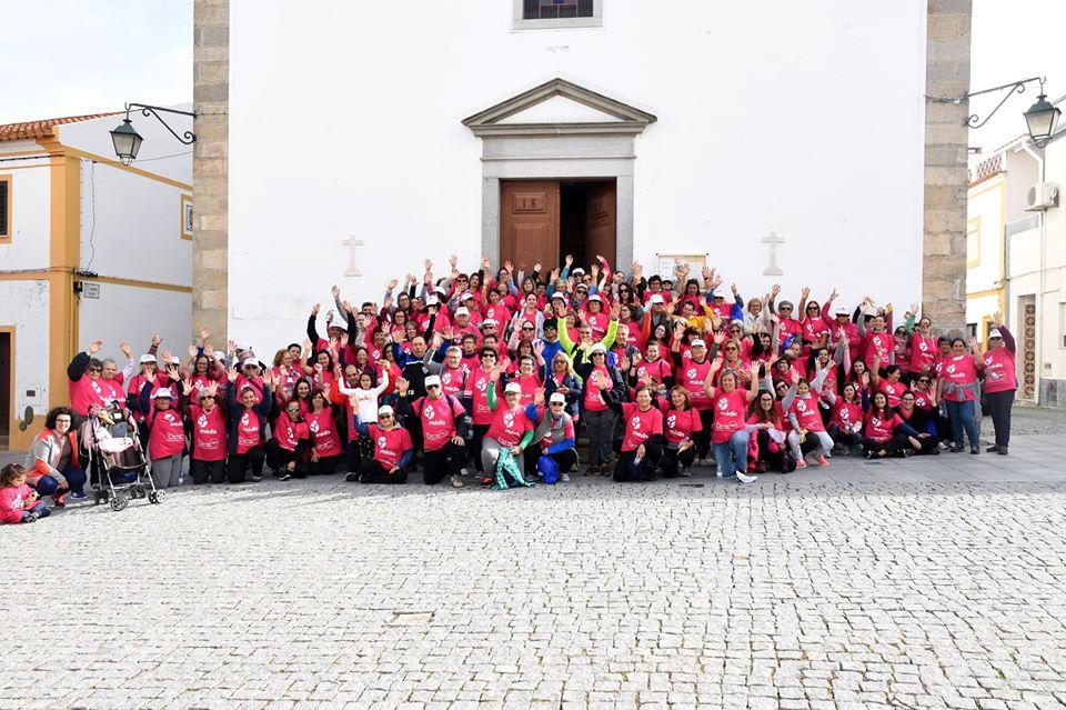 Mais de 200 pessoas caminharam por uma boa causa este domingo em Mora (Com Fotos)