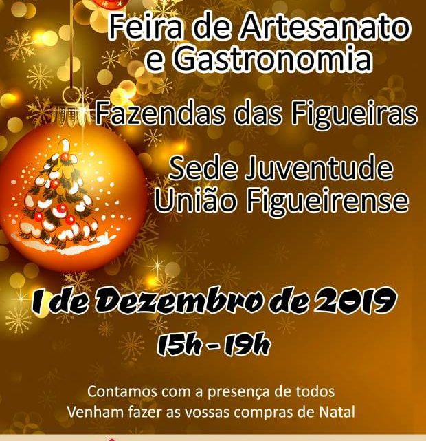 Feira de Natal nas Fazendas das Figueiras no domingo