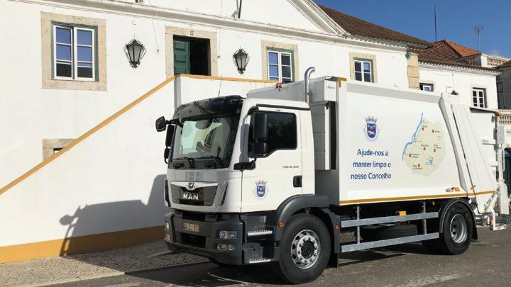 Salvaterra investe 150.000 euros em veículo de recolha de resíduos