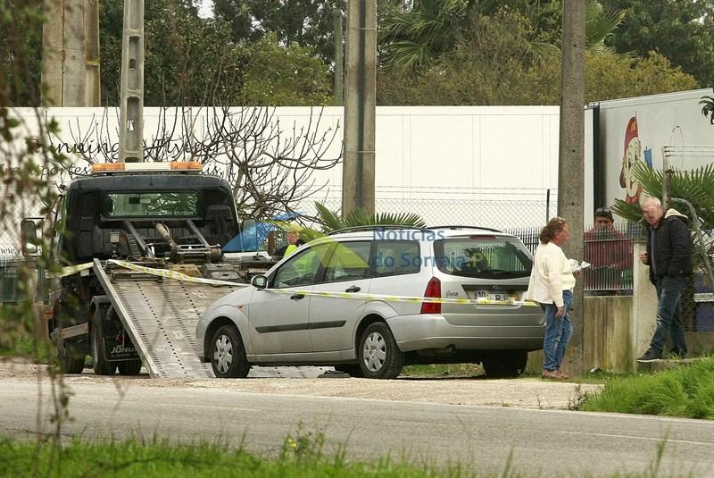Rebocador ferido com gravidade após ser atropelado por carro que carregava. Acidente aconteceu em Salvaterra