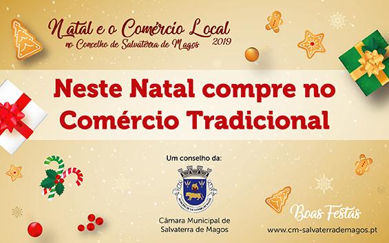 Natal e o Comércio Local são campanha especial em Salvaterra de Magos