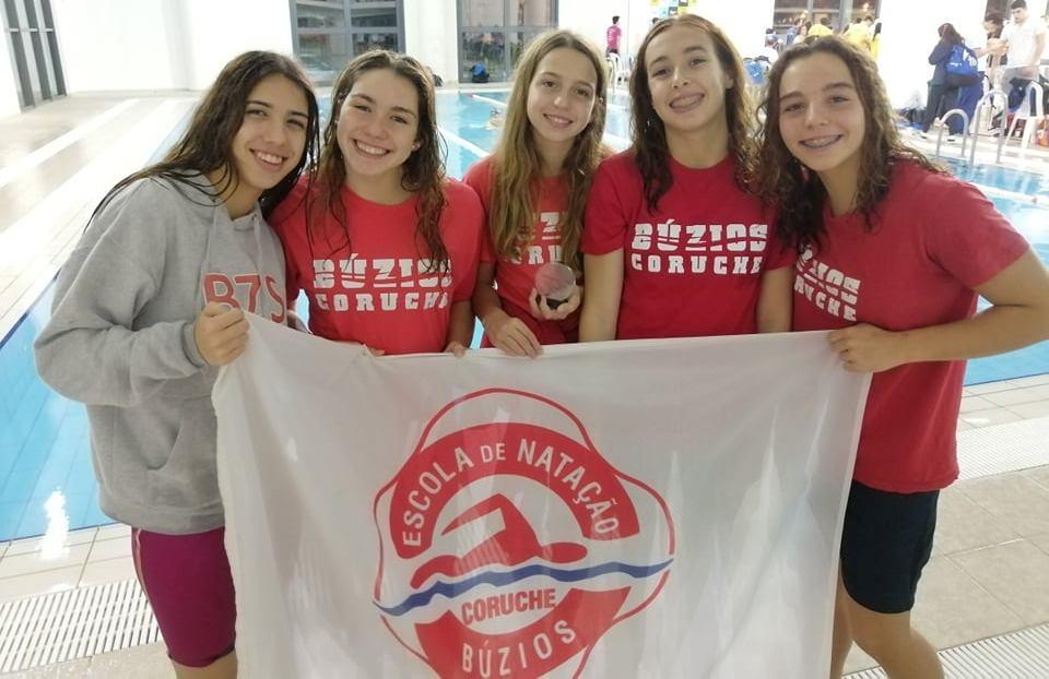 Nadadoras da Búzios fazem história no clube e mantém-se na terceira divisão nacional