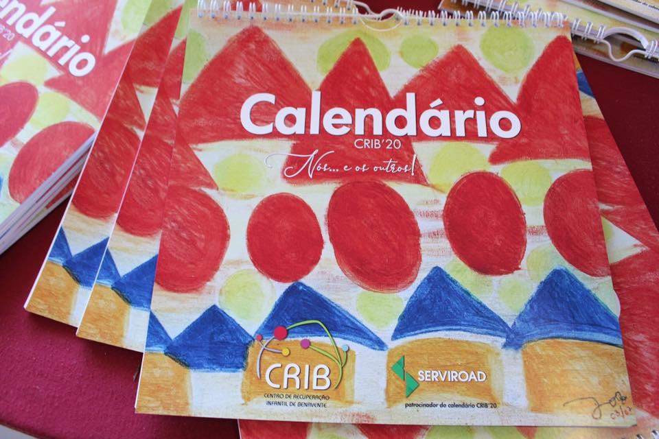 CRIB lança calendário solidário para recolher fundos