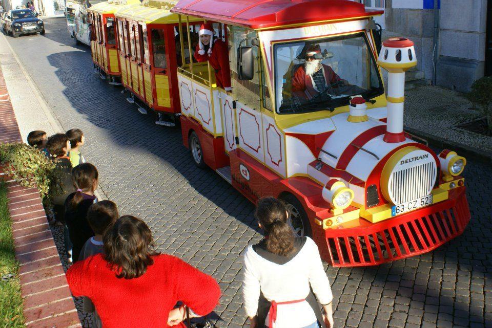 Comboio de Natal em Coruche atrasa um dia mas prolonga-se mais uma semana