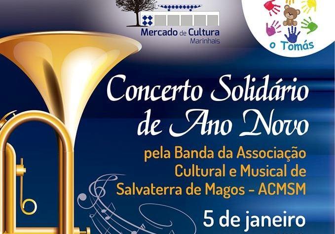 Concerto de Ano Novo solidário a 5 de Janeiro em Marinhais