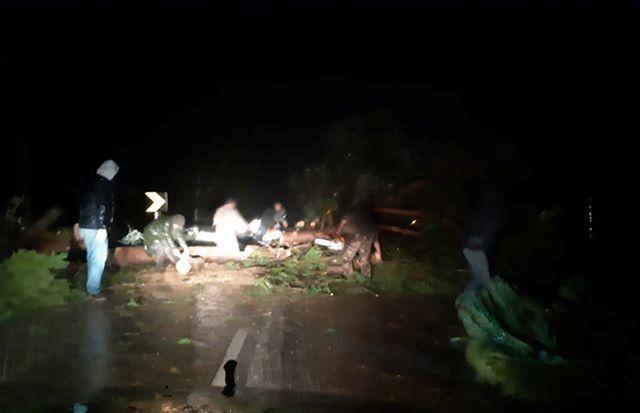 Populares desbloqueiam EN251 entre Fazendas das Figueiras e Arriça (Com Fotos)
