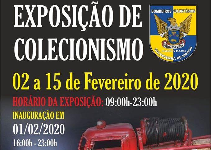 Exposição de Colecionismo de 1 a 15 de Fevereiro nos Bombeiros Voluntários de Salvaterra