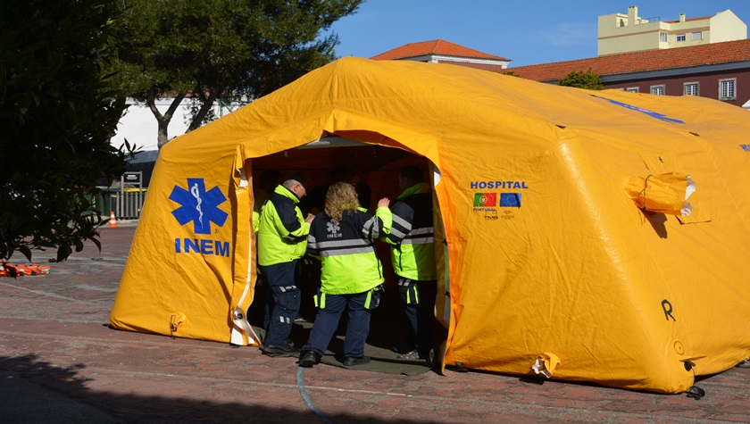 Protecção Civil de Évora promove formação em Alojamento de Emergência