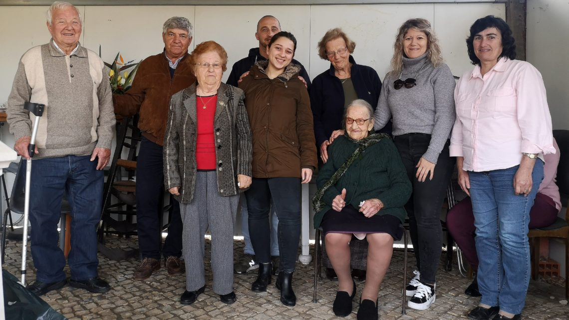 Coruche celebrou 105 anos da Dona Palmira Cruz