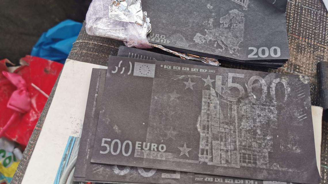 GNR de Coruche apreende 28 900 mil euros em notas falsas e 34 mil euros em pinhas