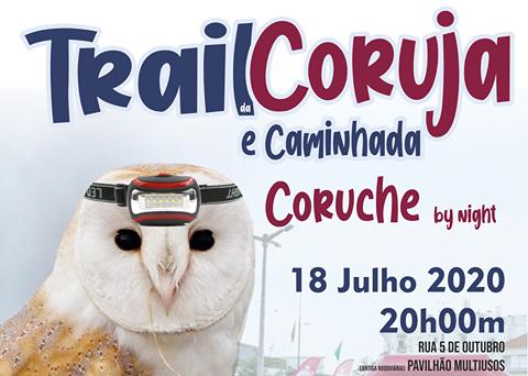 Trail da Coruja e caminhada a 18 de Julho em Coruche