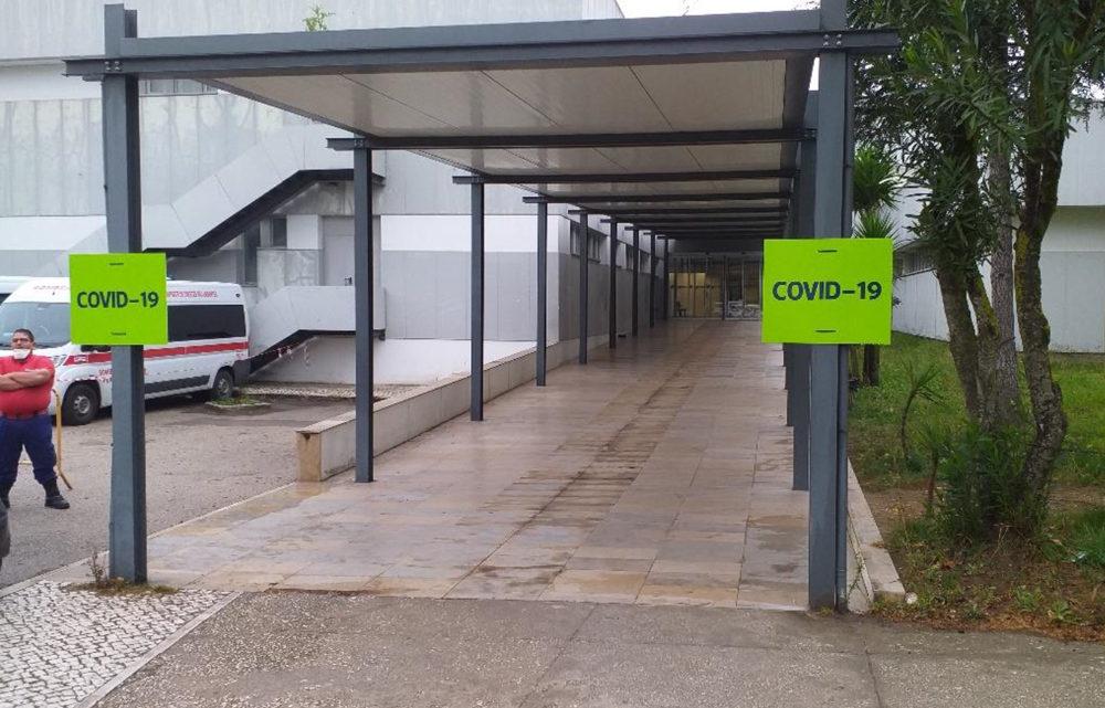 Hospital de Santarém testa em média 40 pessoas por dia ao covid-19
