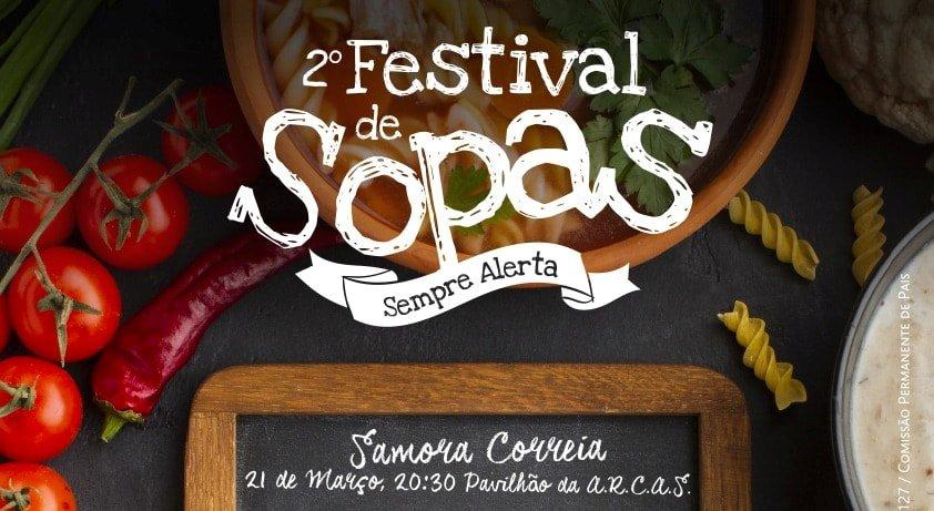 Festival das Sopas a 21 de Março em Samora Correia