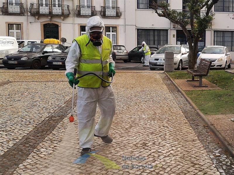 DGS diz que desinfeção das ruas não tem efeito na contenção do contágio do coronavírus