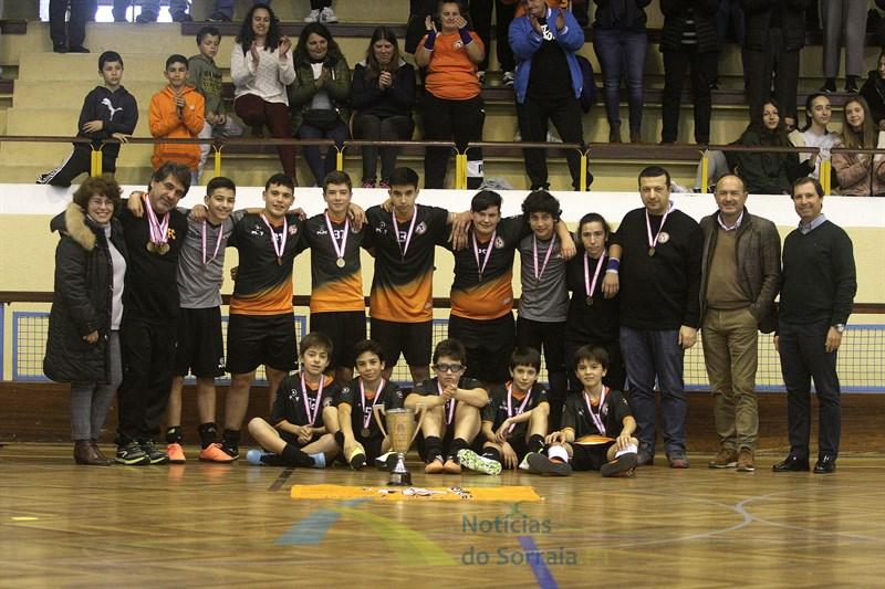 Iniciados do CAD Coruche campeões em pleno de vitórias (Com Fotos)