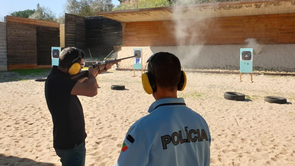 PSP forma 25 pessoas para obtenção de Uso e Porte de Armas