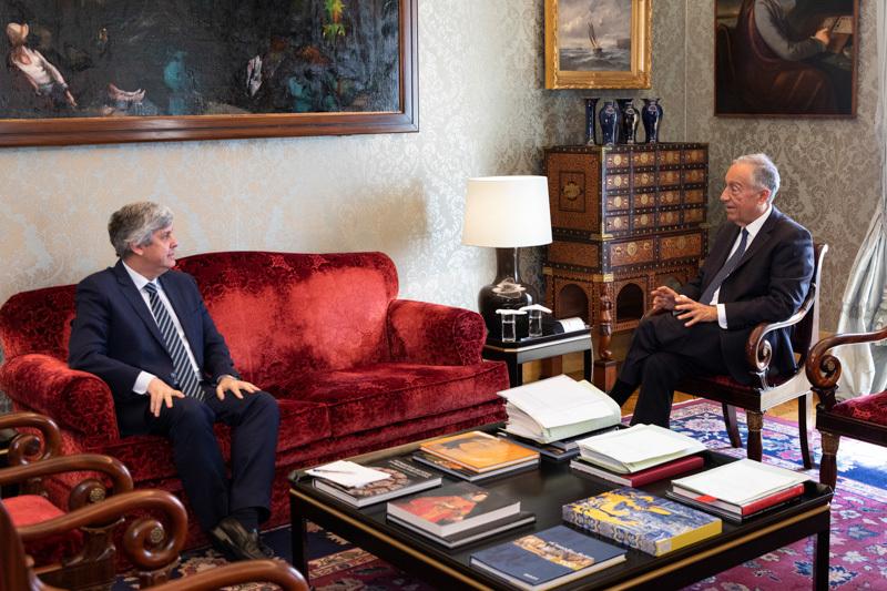 Presidente da República recebeu Ministro das Finanças e promulgou OE 2020 que entra em vigor a 1 de Abril