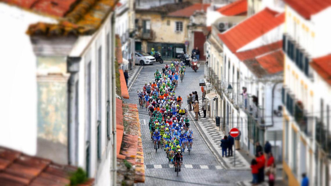 Mora recebe final de etapa da Volta ao Alentejo em bicicleta