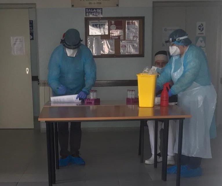 Testes aos lares de idosos da região começaram esta sexta-feira em Benavente