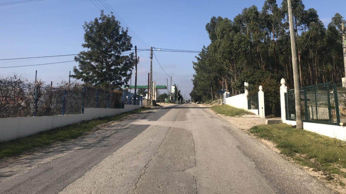 Câmara de Coruche investe 326 mil euros na requalificação da EM515 no Biscainho