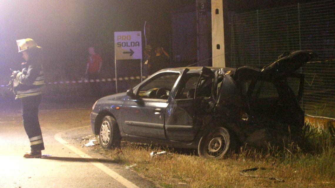 GNR investiga fuga do condutor de uma das viaturas no acidente da Estrada da Murteira. Acidente provocou a morte a criança de 6 anos e mais quatro feridos, um deles grave (Com Fotos)