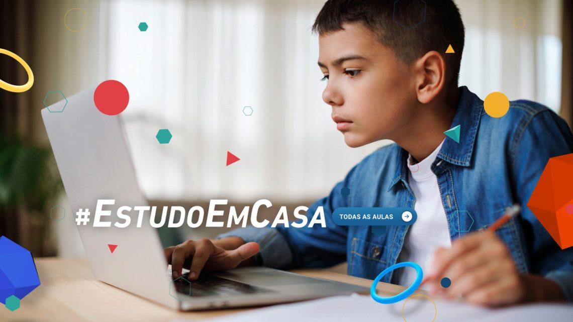 Conheça a programação do Estudo em Casa readaptado para o regresso às aulas virtuais