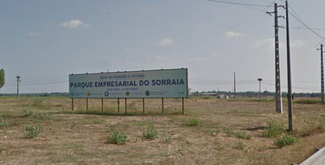 Parque Empresarial do Sorraia com 20 lotes preparados para receber empresas