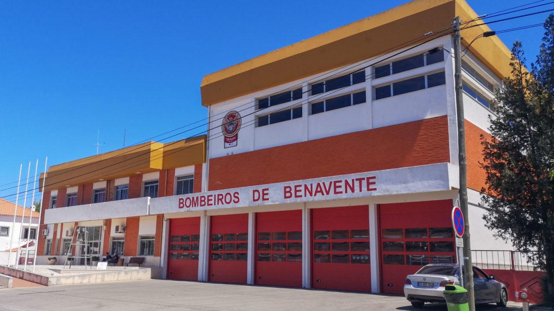 Câmara de Benavente apoia bombeiros com concelho com mais de 240 mil euros