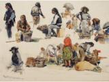 Exposição de aguarelas taurinas na Falcoaria Real de Salvaterra de Magos