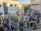 Centena e meia de alunos em ajuntamento na Escola Secundária de Benavente em actividade que desrespeitou acordo com a Direcção (Com Fotos e Vídeo)