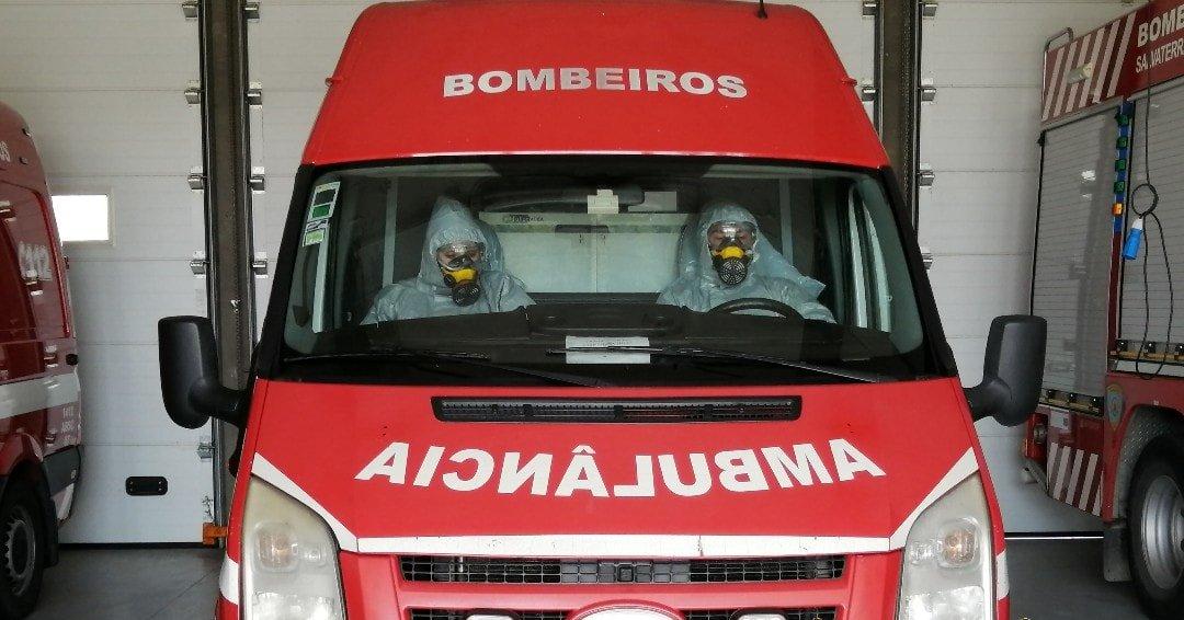 Bombeiros de Salvaterra de Magos testaram negativo ao coronavírus