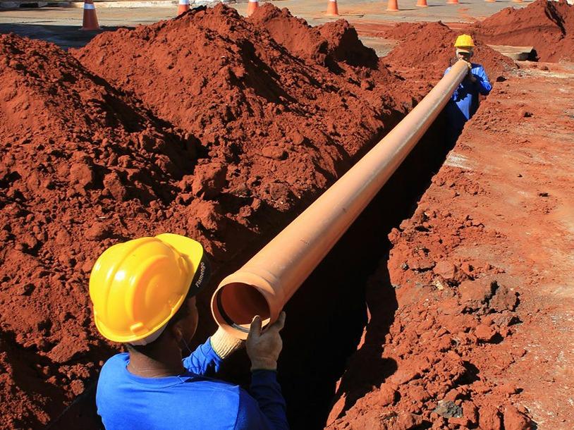 Rede de Abastecimento e saneamento na Coutada Velha em fase de projecto