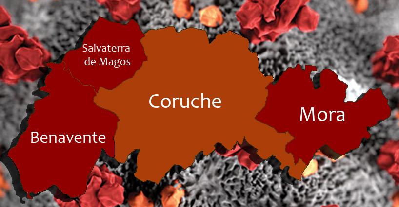 Covid-19 deixa todo o Vale do Sorraia a vermelho. Só Coruche está abaixo dos 960 casos por 100 mil habitantes
